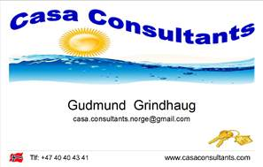 G.Grindhaug Norway Card
